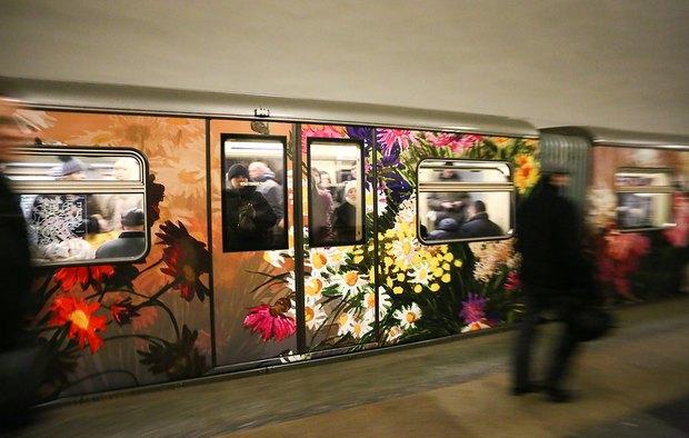 Поезд «Акварель» обновили. Изображение № 2.