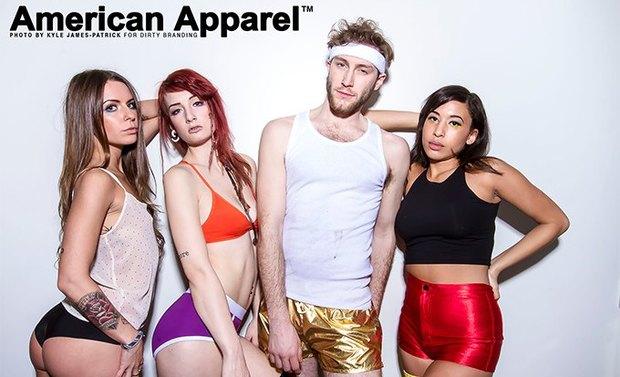 Рекламная кампания American Apparel. Изображение № 4.