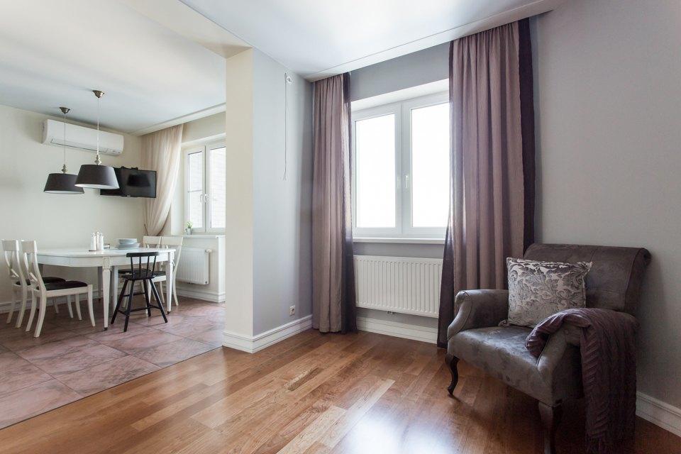 Большая квартира для семьи на«Нагатинской» с кабинетом илимонной ванной. Изображение № 22.