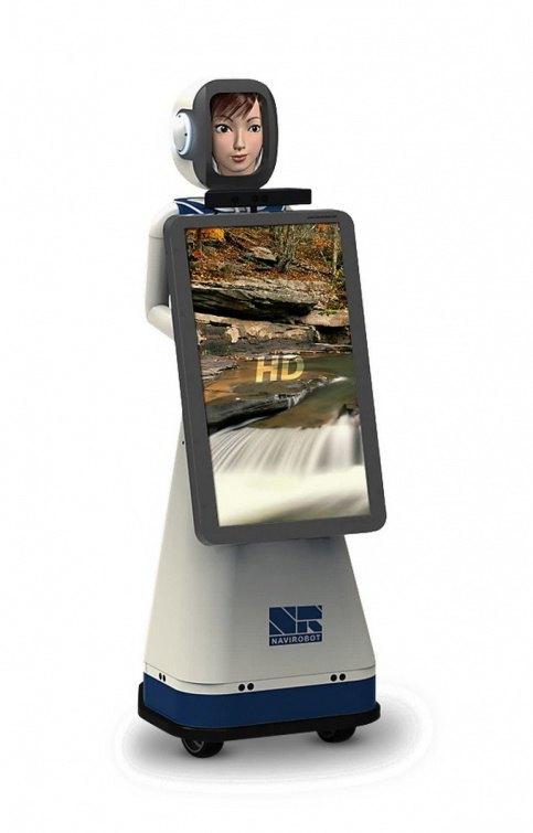 В аэропорту Внуково появился робот по имени Леночка. Изображение № 1.