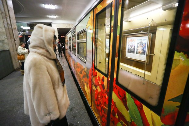 Поезд «Акварель» обновили. Изображение № 3.