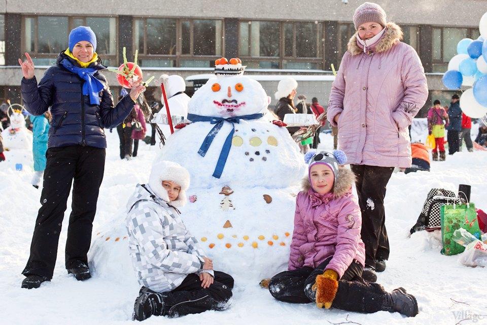 Люди в городе: «Арт-битва снеговиков». Изображение № 12.