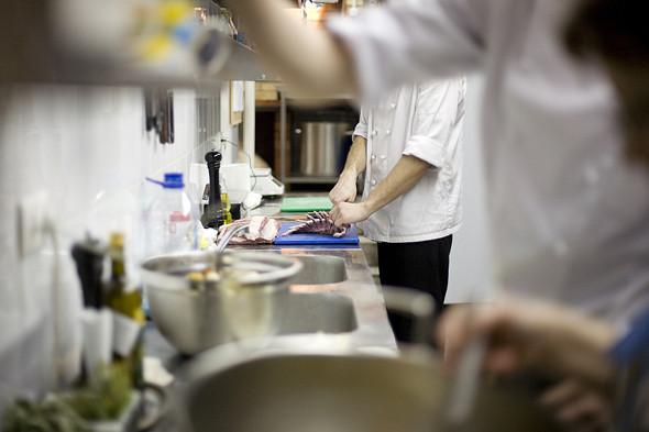 Изображение 5. Фоторепортаж с кухни: Ресторан «Бонтемпи».. Изображение № 16.