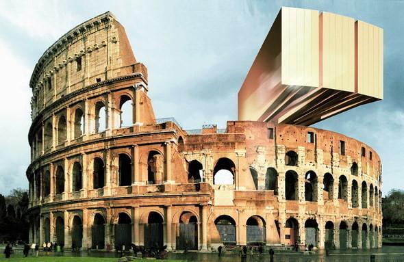 проект Колизея в Риме. Изображение № 6.