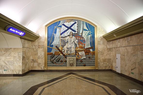 На новой станции метро «Адмиралтейская» уже произошло несколько аварийных остановок эскалатора. Изображение № 27.