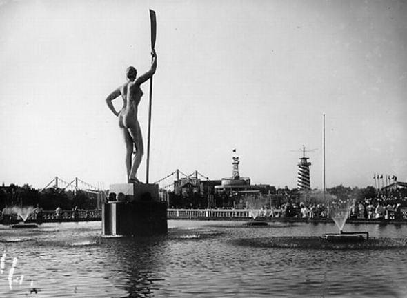 Парк Горького, 1939 год. Изображение № 5.