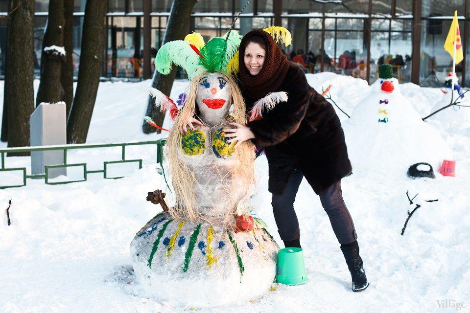 Люди в городе: «Арт-битва снеговиков». Изображение № 28.