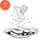 Рецепты шефов: Тёплый салат изутиной грудки магре. Изображение № 9.