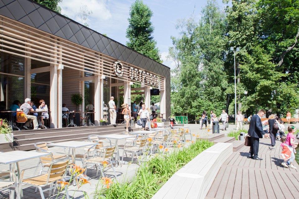 Еда в парке Горького: 33кафе, ресторана икиоска. Изображение № 43.