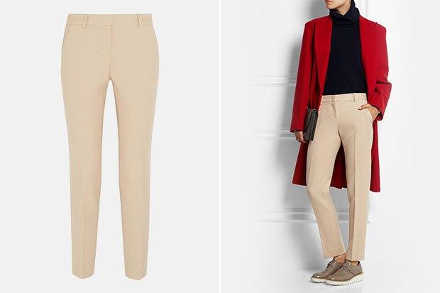 Семь пар светлых женских брюк . Изображение № 6.