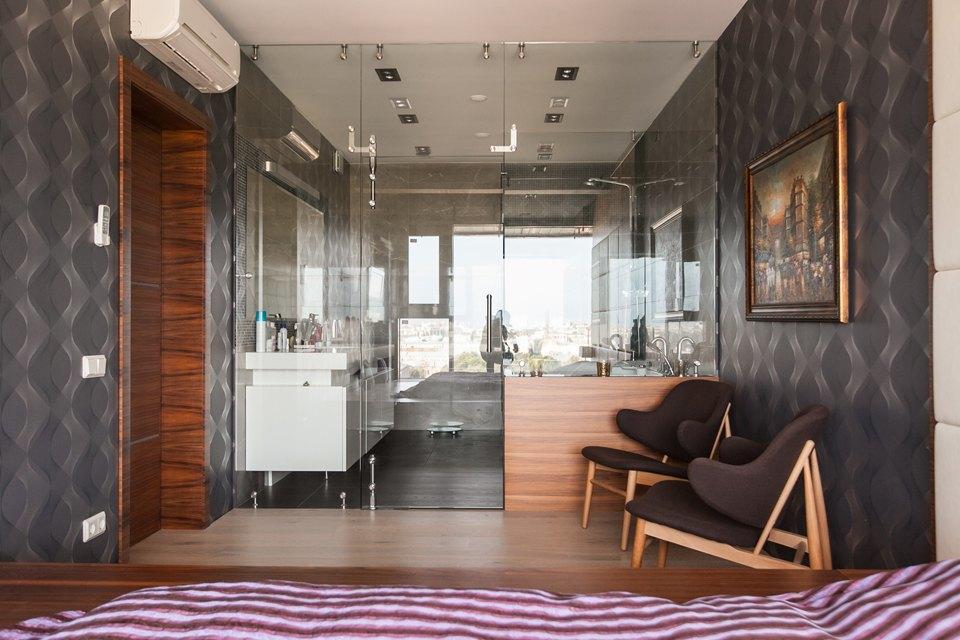 Мужская квартира с панорамным видом на город. Изображение № 30.