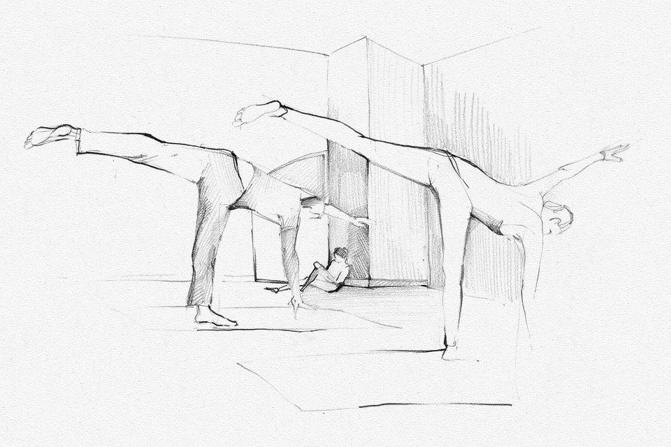 Клуб рисовальщиков: Йога. Изображение № 5.