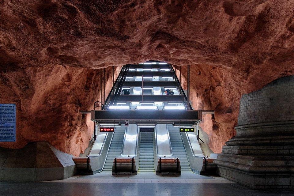 7 самых эффектных зарубежных систем метро. Изображение № 2.