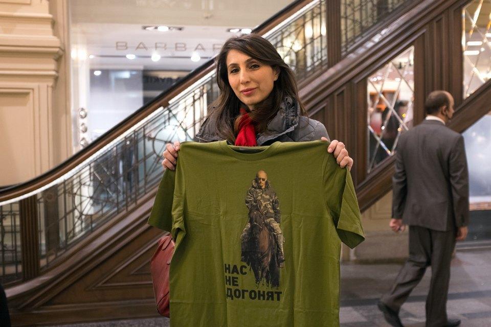 Съёмный патриотизм: Кто и зачем покупает одежду с Путиным. Изображение № 20.