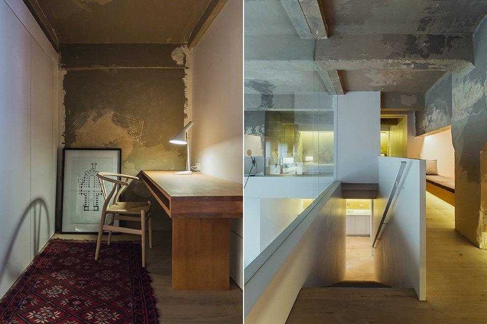 Двухэтажный лофт на «Рижской» сдагестанскими коврами. Изображение № 20.