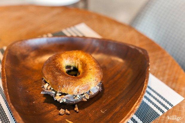 «Золушкин бейгл» из тыквы с шоколадной пастой — 115 рублей. Изображение № 2.