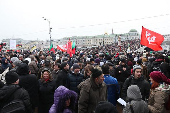 Фоторепортаж: Митинг против фальсификации выборов. Изображение № 23.