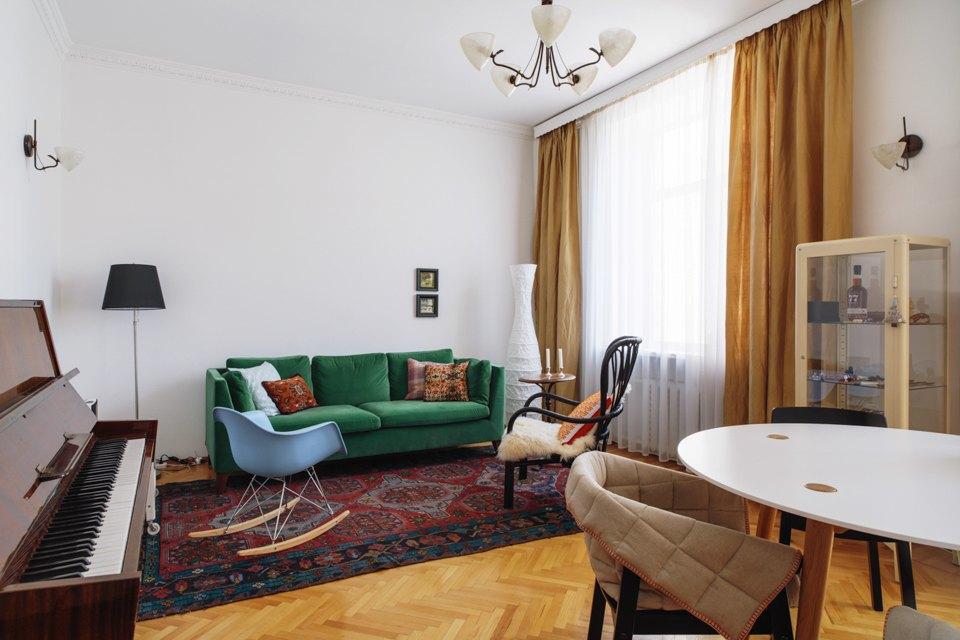 Двухкомнатная квартира топ-менеджера IKEA на«Маяковской». Изображение № 3.