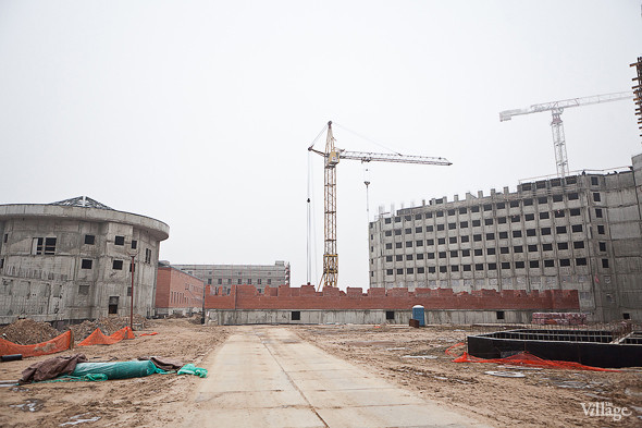 Строительство перехода между режимным корпусом и административным блоком.. Изображение № 11.