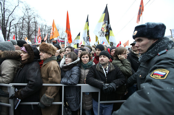 Фоторепортаж: Митинг против фальсификации выборов. Изображение № 26.