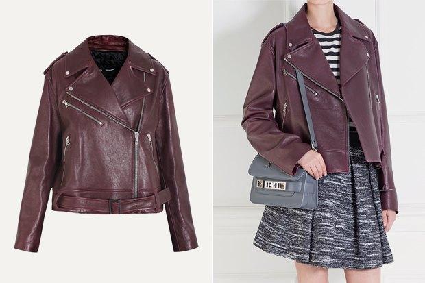 Где купить женскую кожаную куртку: 9вариантов от 8 до 169 тысяч рублей. Изображение № 8.