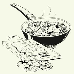 Завтраки дома: Бейгл с лососем иартишоками ибрускетта изресторана «Уголёк». Изображение № 14.