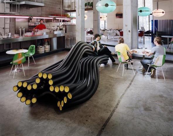 Изображение 3. В баре «Стрелка» появится проект индустриального дизайнера Себастьяна Виринка.. Изображение № 5.