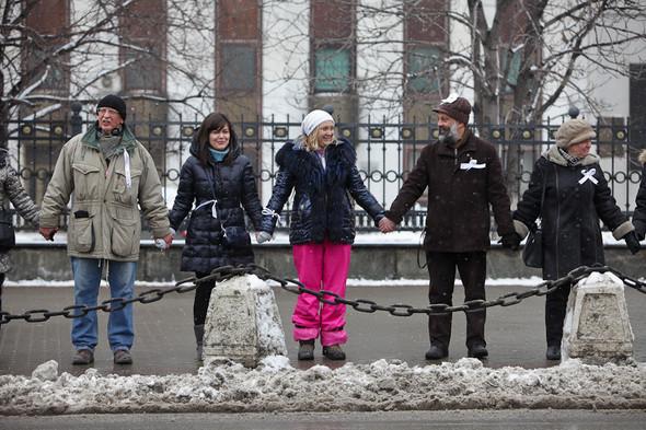 Близкое окружение: Участники акции «Белый круг» о проблемах Москвы. Изображение № 13.
