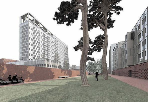 Изображение 8. На Павелецкой набережной построят молодежный жилой комплекс.. Изображение № 4.