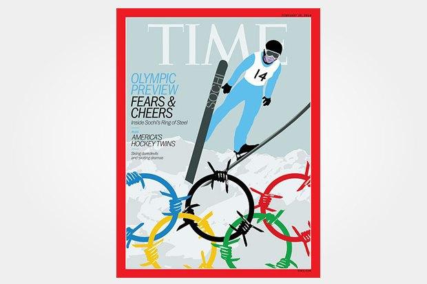 Олимпиада в Сочи на обложках зарубежных изданий. Изображение № 3.