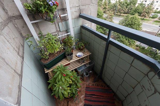 Квартирный вопрос: Что делать с маленьким балконом. Изображение № 1.