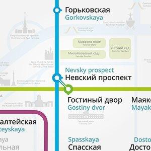 Карты на стол: 11 альтернативных схем петербургского метро. Изображение № 7.