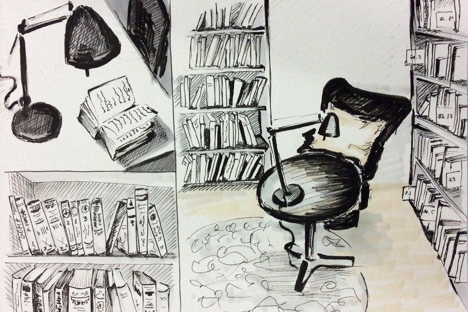 Библиотека им. Достоевского . Изображение № 6.