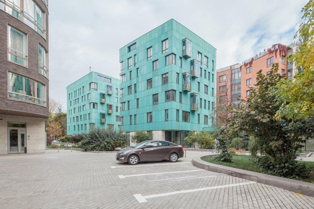 Жилой комплекс Copper House Бюро «Сергей Скуратов Architects», 2004 год. Изображение № 9.