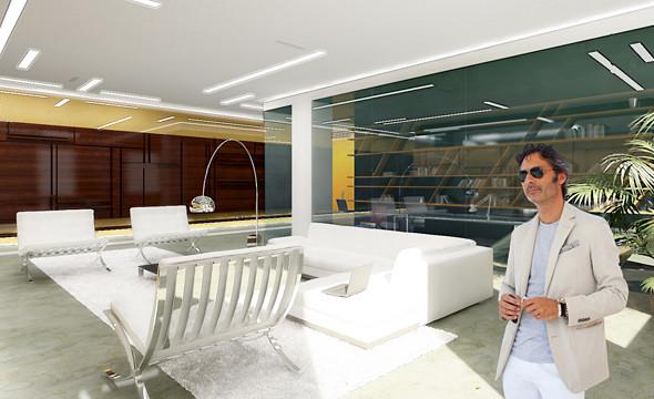 Интерьер квартиры в ЖК «Дом у моря» на Крестовском. Проект находится в стадии реализации.. Изображение № 12.