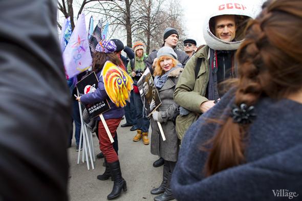 В Москве прошло арт-шествие в честь Дня космонавтики. Изображение № 1.