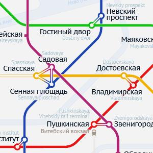 Карты на стол: 11 альтернативных схем петербургского метро. Изображение № 17.