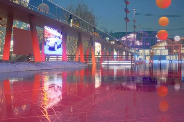 В парке Горького начали строить самый большой каток в Москве. Изображение № 17.