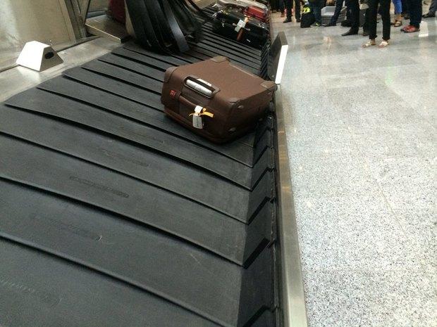Администрация аэропортаПулково — огубках наленте выдачи багажа. Изображение № 2.