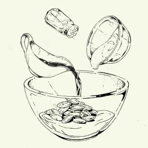 Завтраки дома: Бейгл с лососем иартишоками ибрускетта изресторана «Уголёк». Изображение № 6.