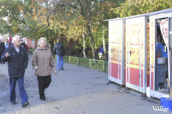 В Москве появились новые биотуалеты, расписанные под хохлому. Изображение № 1.