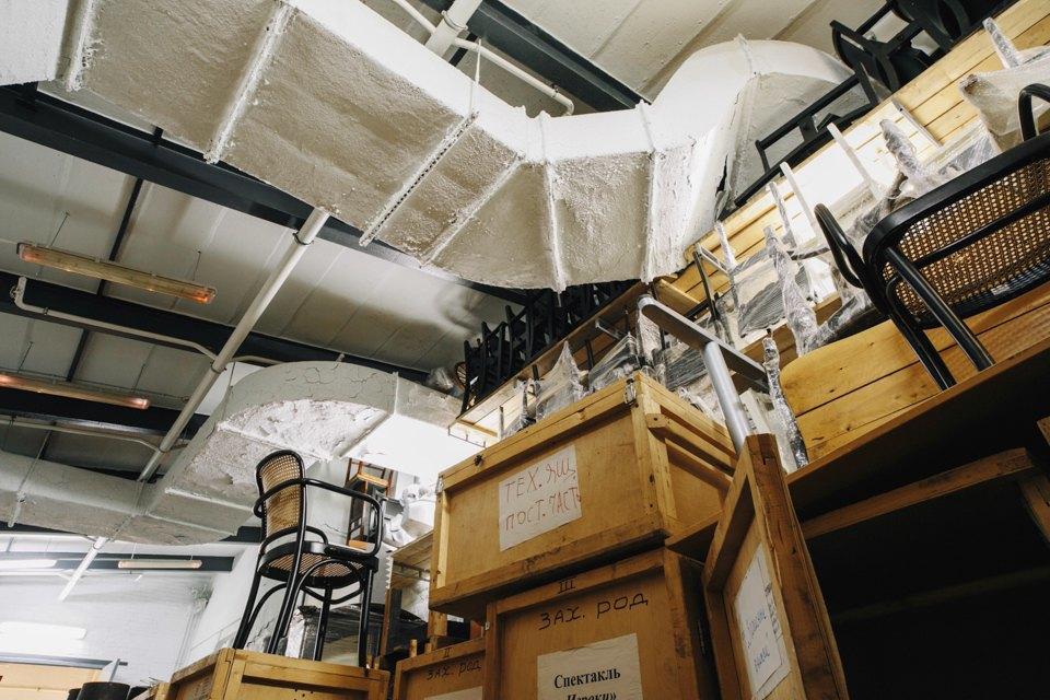 «Студия театрального искусства» вздании бывшей фабрики. Изображение № 34.