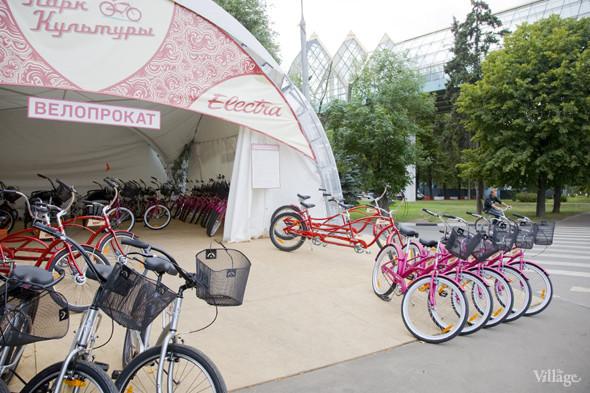 В парке Горького открылось три новых велопроката. Изображение № 4.