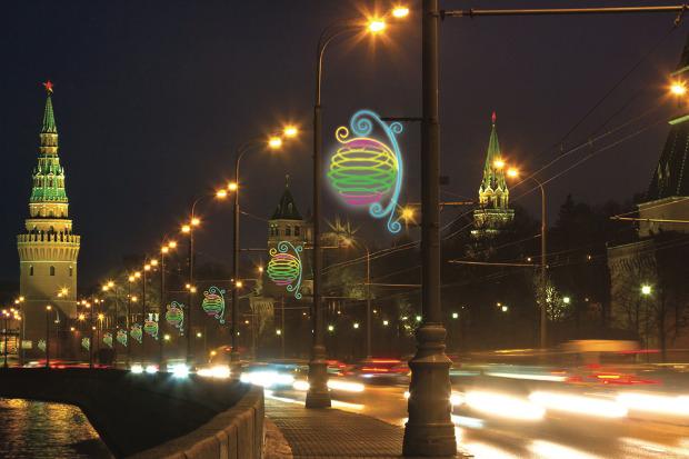 Великие луки: Как украсят Москву к Новому году. Изображение № 75.