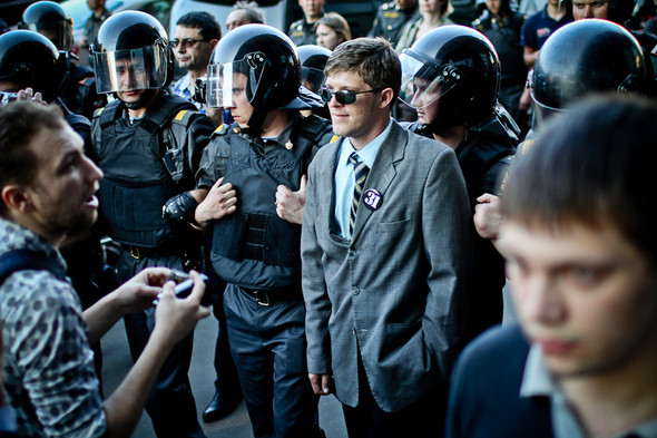 Изображение 34. Copwatch: действия полиции на митинге «Стратегии-31» на Триумфальной площади.. Изображение № 30.