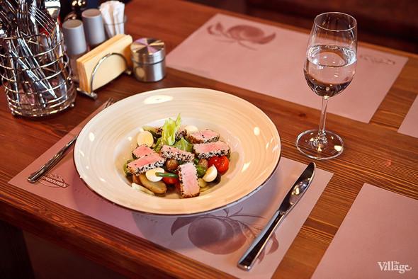 Салат с тунцом и зеленой фасолью — 260 рублей. Изображение № 44.