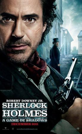 Фильмы каникул: «Шерлок Холмс: Игра теней», «Девушка с татуировкой дракона», «Хранитель времени». Изображение № 1.