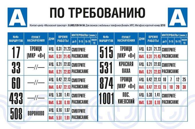 На московских остановках появятся маршрутные указатели вновом дизайне. Изображение № 1.