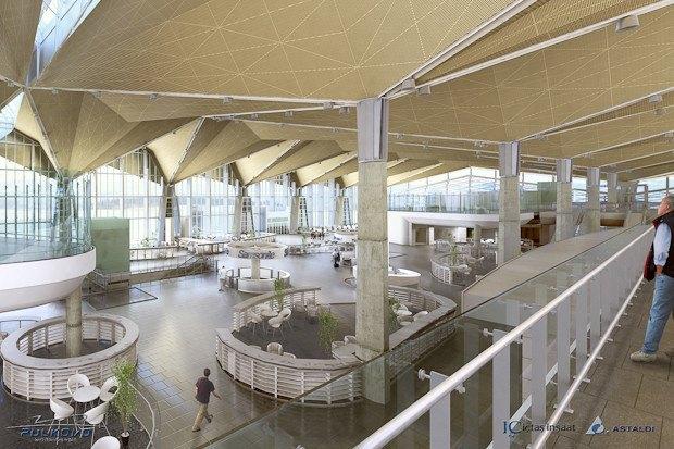 В новом терминале Пулкова выставят современное искусство. Изображение № 1.