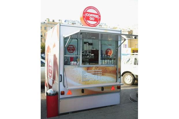 На «Сенной» появилась кофейня-фургон Coffee Go. Изображение № 2.